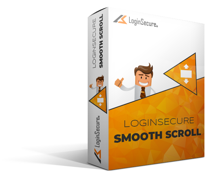 LoginSecure Smooth Scroll
